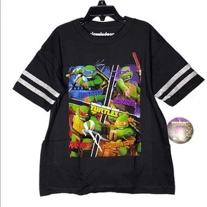 TMNT Graphic Short Sleeves T-Shirt Size 7 Child